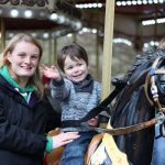 carousel horse at chessington