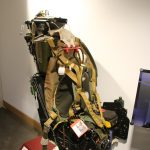 ejector seat on display at the soldiers of oxfordshire museum