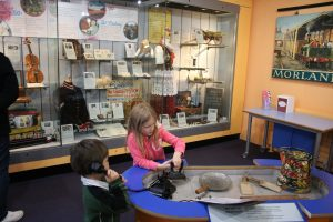 Kids at The Oxfordshire Mseum