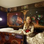 kids bunk beds in the Alton Towers Hotel