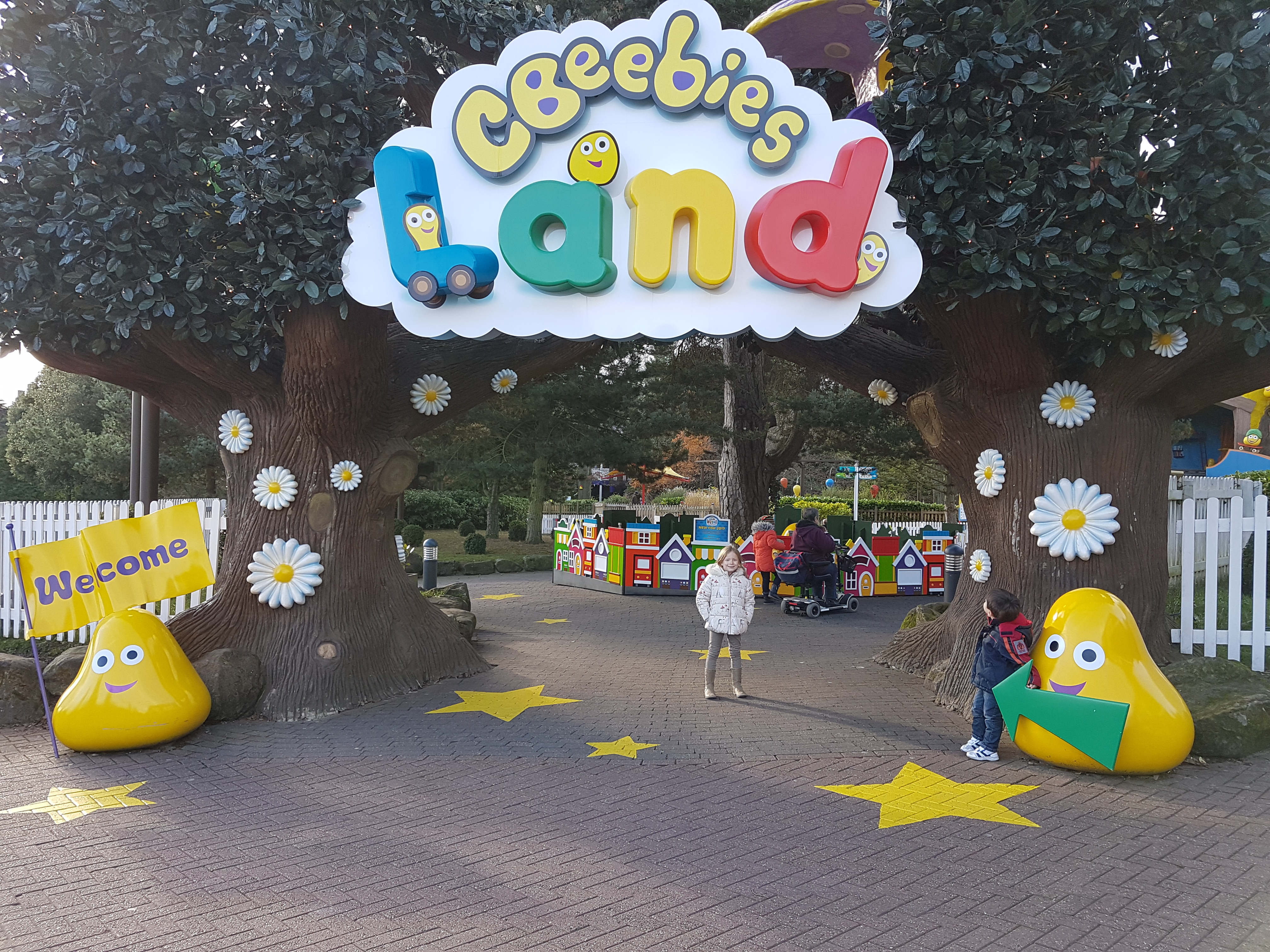 entrance to Cbeebies Land at Alton Towers