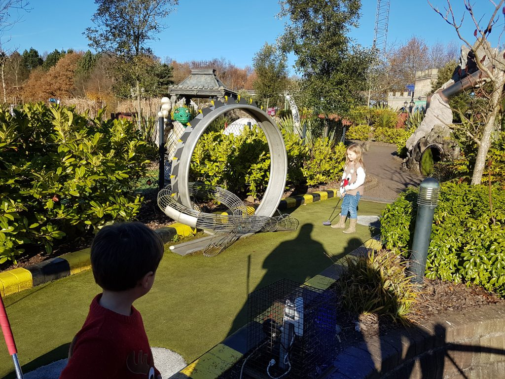 adventure golf at Alton Towers
