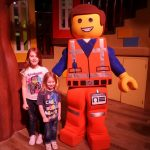 kids with Emmett at the Legoland Hotel