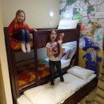 bunkbeds at legoland hotel