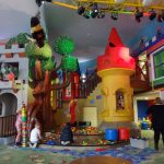 entertainment area in the Legoland Hotel