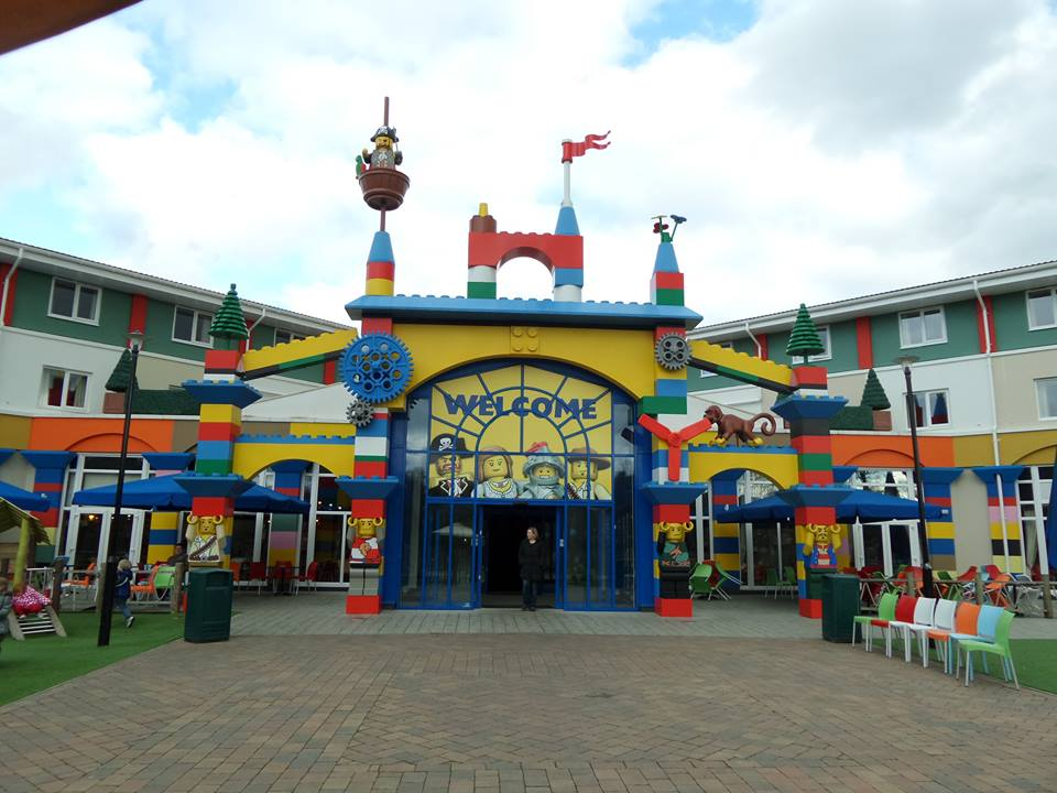 entrance to the Legoland hotel