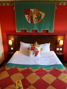 Legoland Hotel kingdom themed bed
