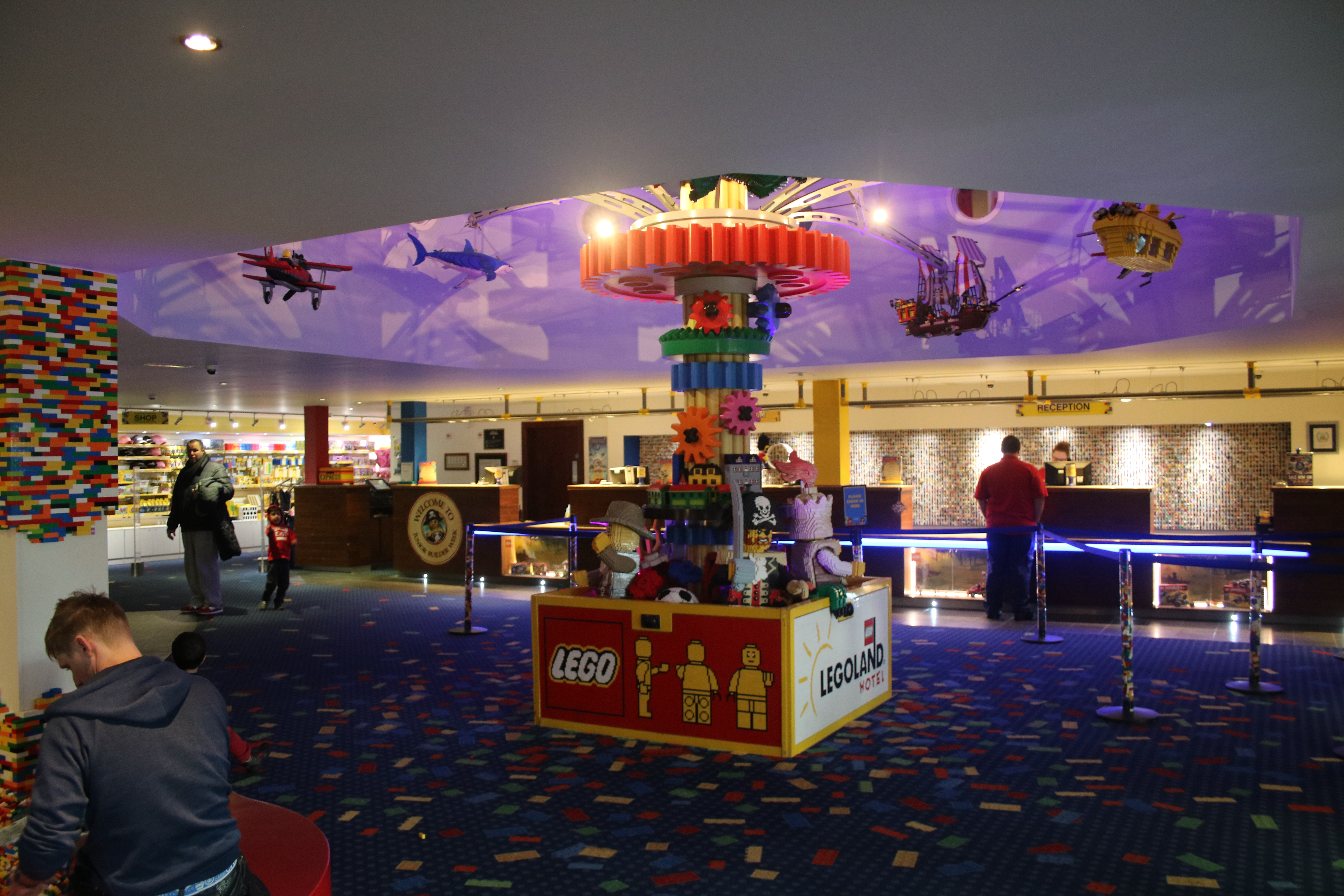 Legoland hotel windsor foyer