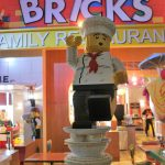 entrance to the Bricks restaurant at the Legoland Hotel