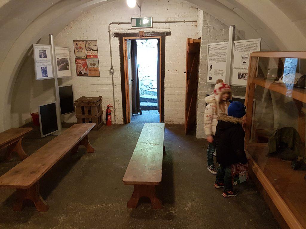 air raid shelter at didcot railway centre