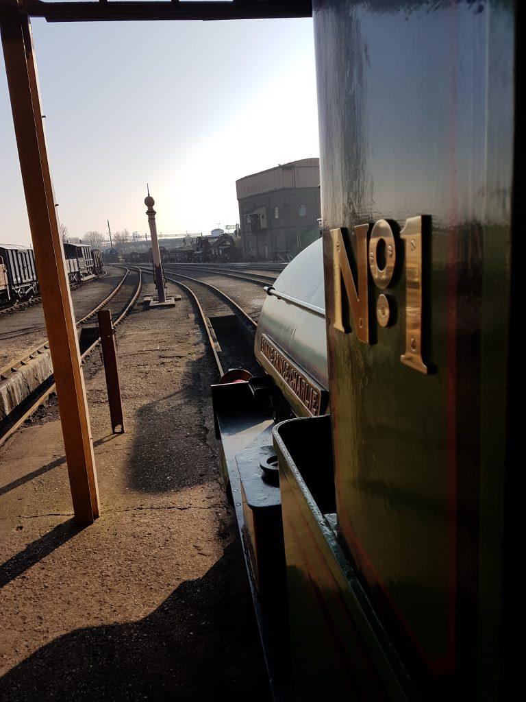 train drivers view