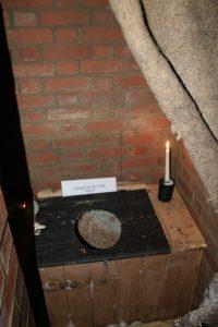 candlelit toilet