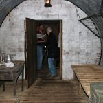 living area in the bunker