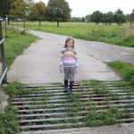 lois stood on a cattle grid