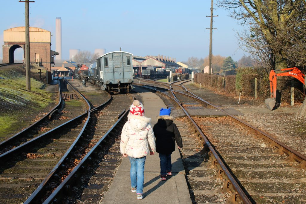 Tracks at Didcot railway centre