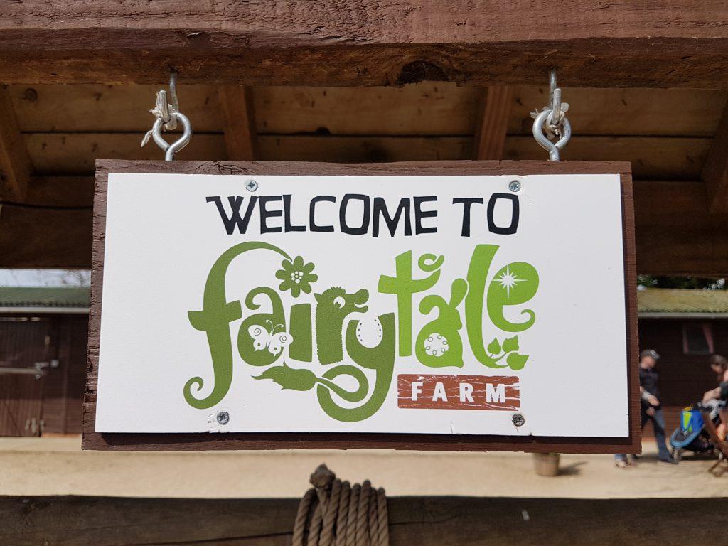 fairytale farm sign