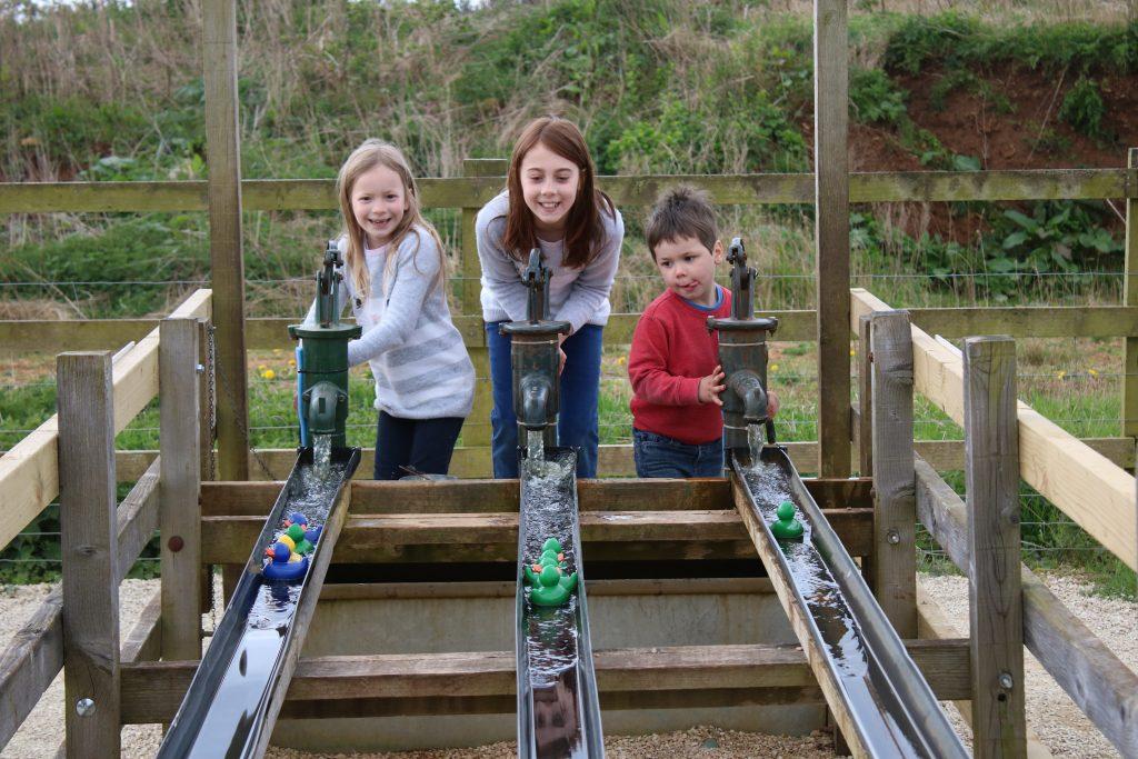 rubber duck racing at fairytale farm