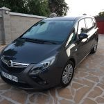 our hire car in spain