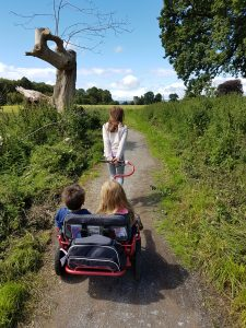 Yippie Yo crossbuggy exploring Castle Coole National Trust site