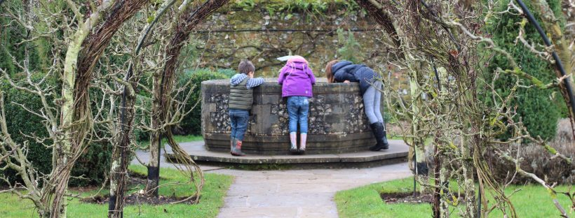 Hughendon manor wishing well in the gardens