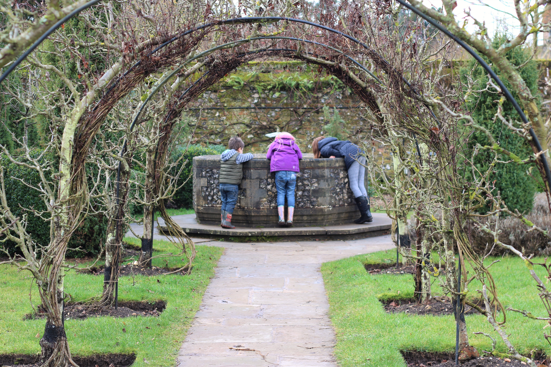 Hughendon manor wishing well in the gardens