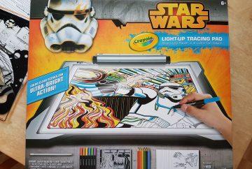 Crayola Star Wars Light-Up Tracing Pad box