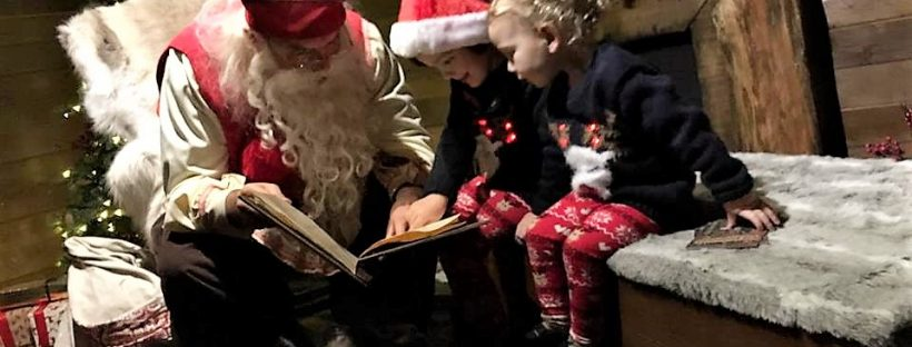 Meeting Father Christmas/Santa at Lapland UK