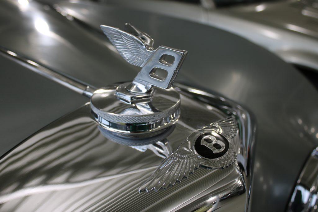 Bentley chrome car