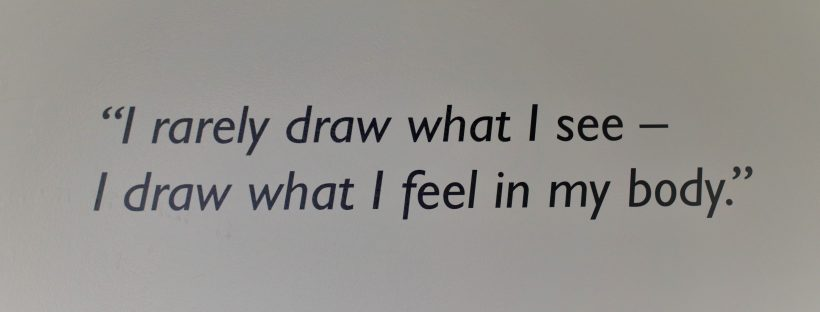 Quote from sculpture Barbara Hepworth