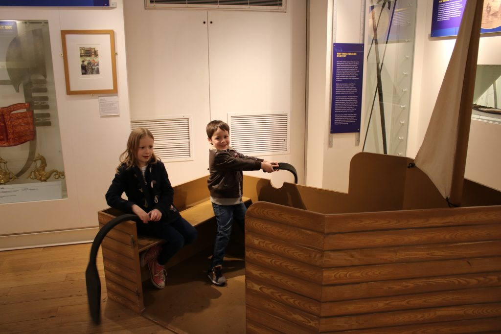 Rowing boat at River & Rowing Museum