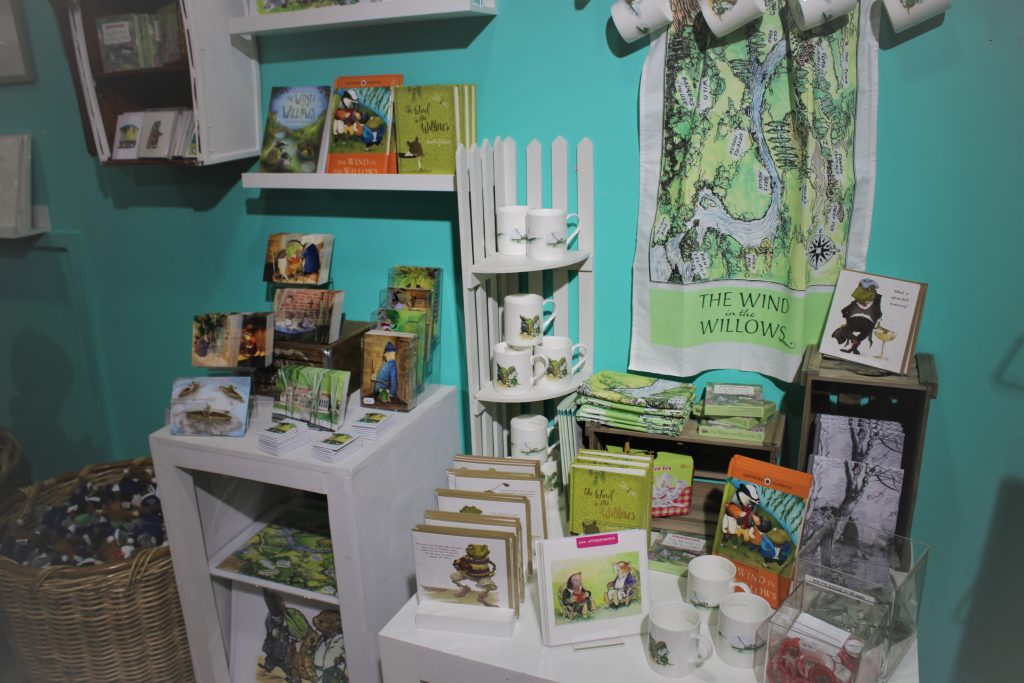 Wind in the willows shop goods