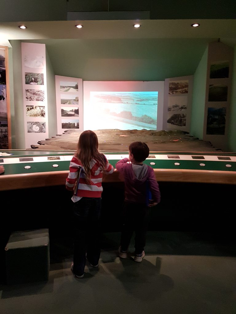 lois and cody looking at vale map display