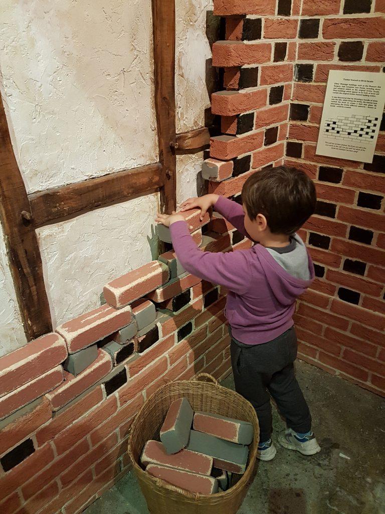 cody building brick wall