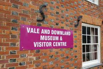 Vale & Downland Museum entrance