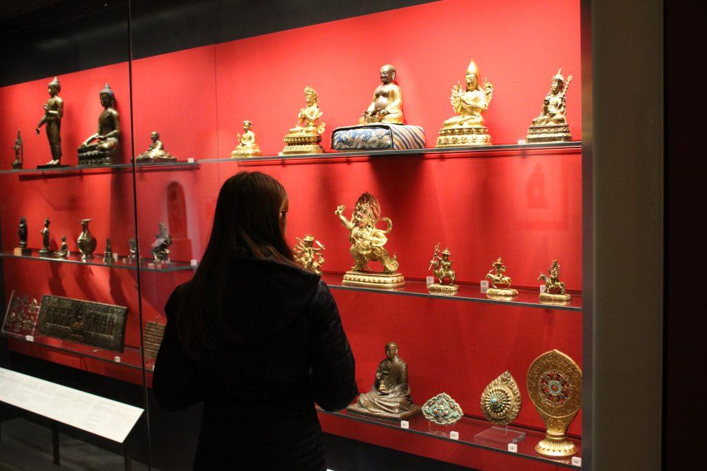 budhist display at ashmolean