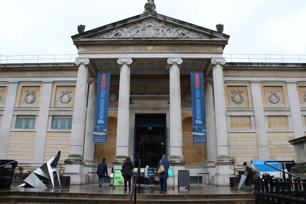 ashmolean museum entrance