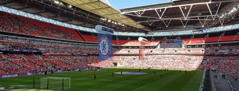 Wembley stadium womens football cup final