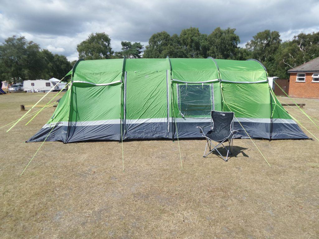 camping Kalahari 8 tent and chair