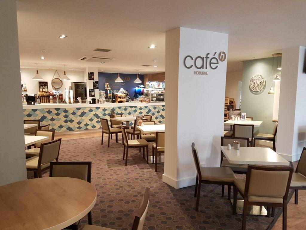 cafe at Hoburne Naish