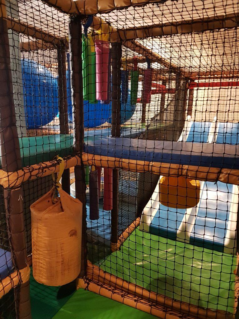 indoor soft play at Hoburne Naish