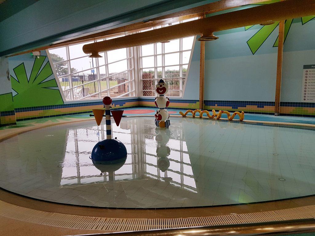 Toddler pool at Hoburne Naish
