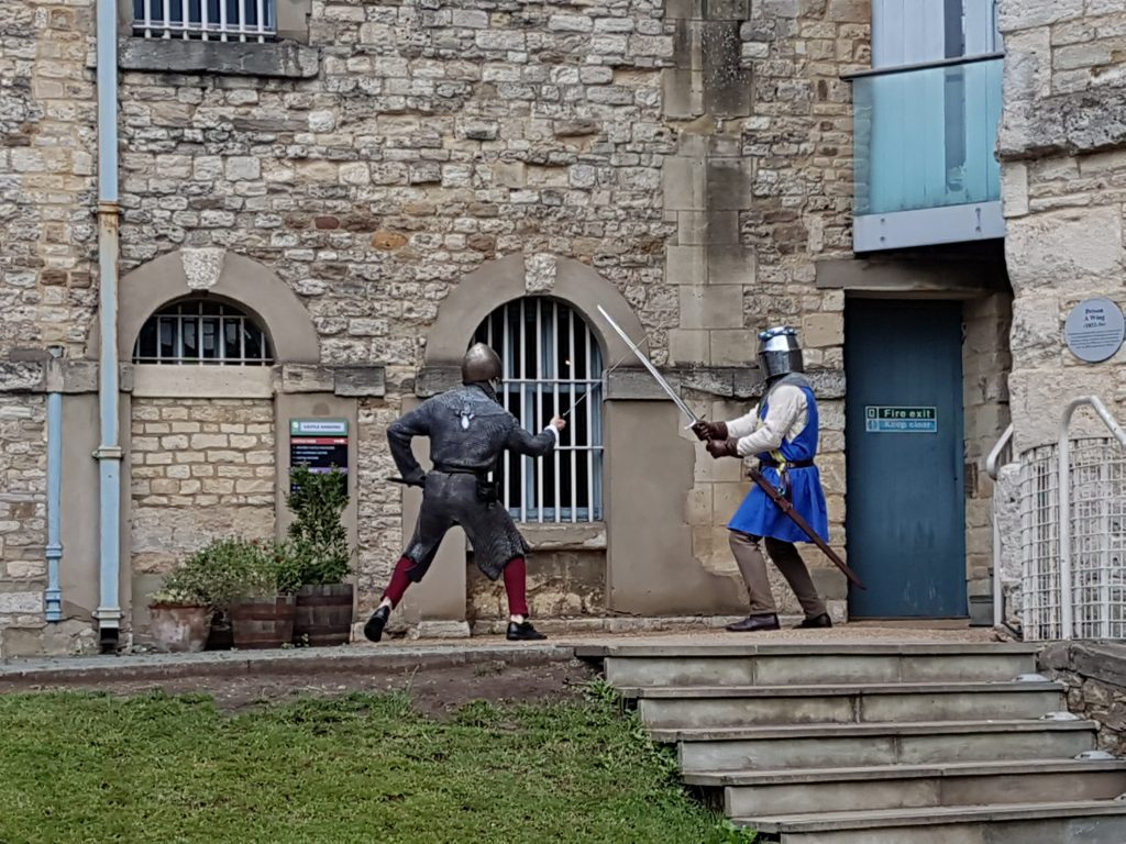 knights at oxford castle