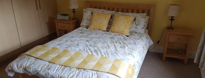 Air BnB bedroom in Ireland