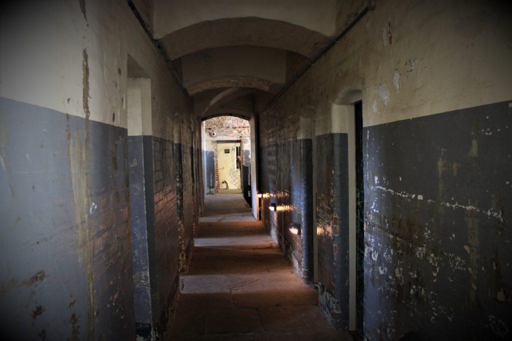 Oxford Prison corridor