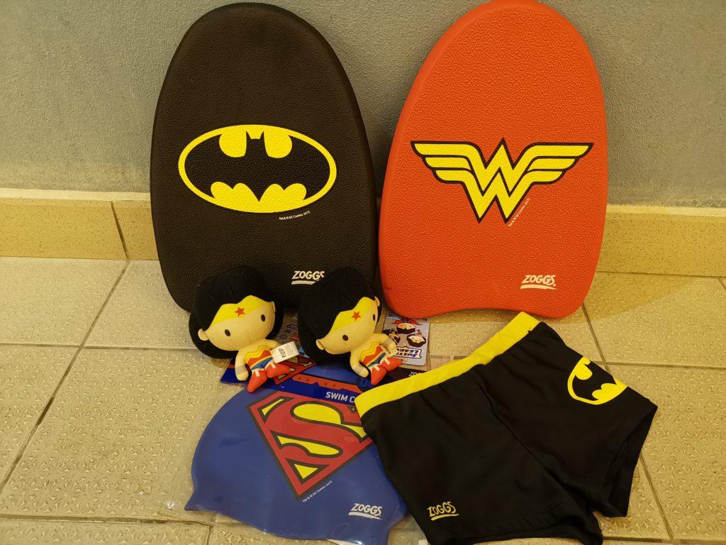 Zoggs DC superheroes swimming merchandise