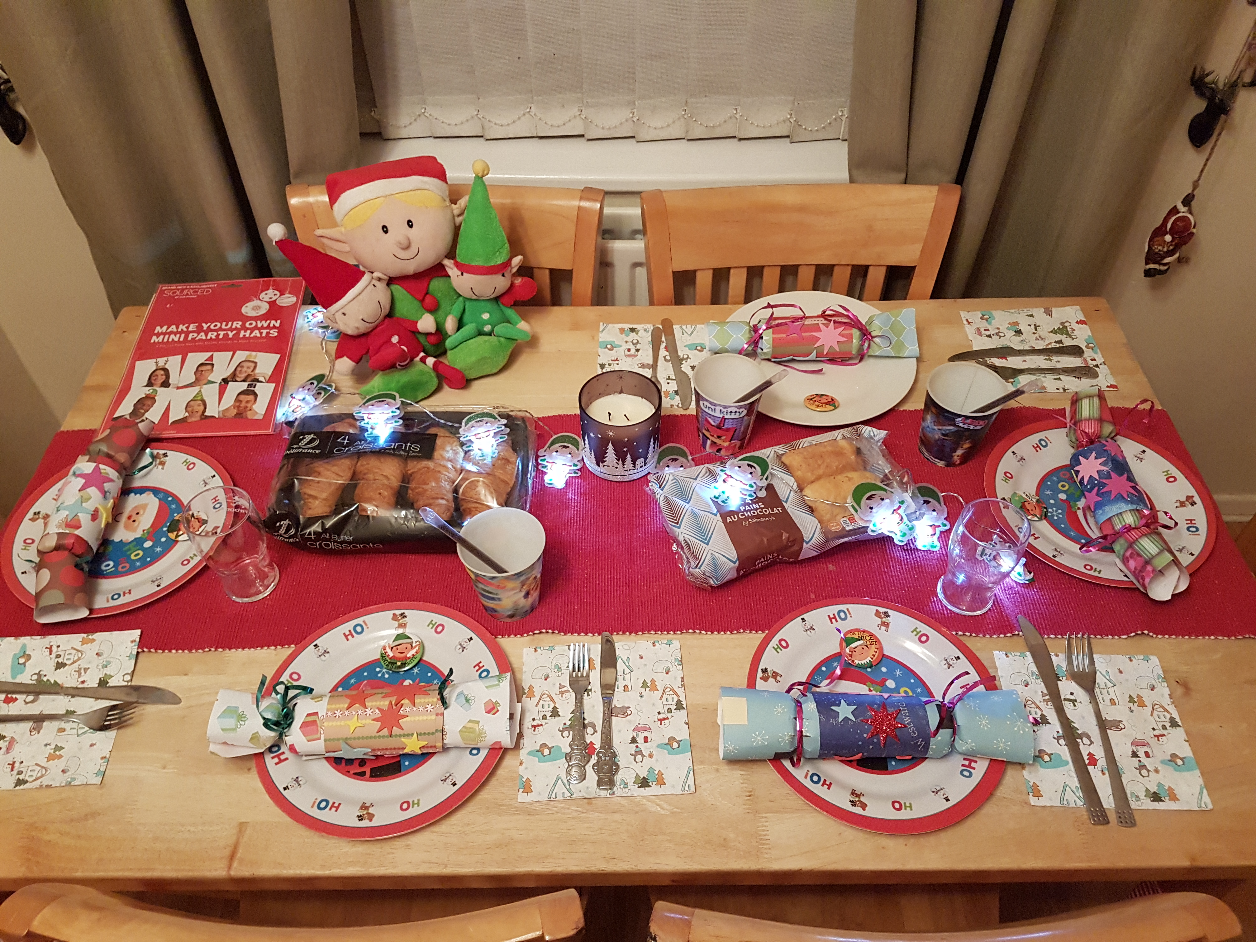 North pole breakfast for elf on the shelf