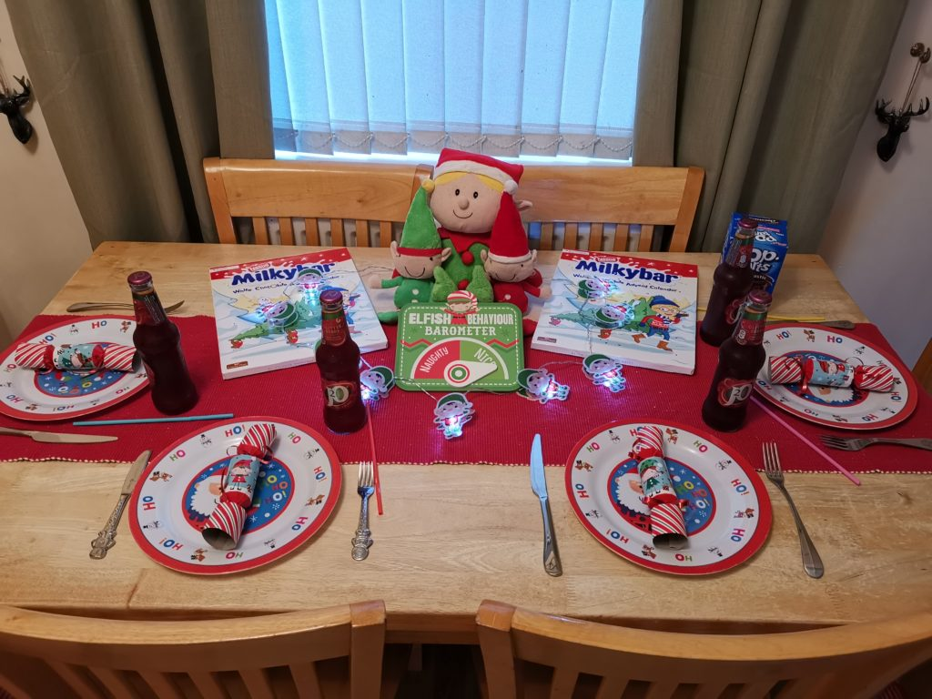 North Pole breakfast table