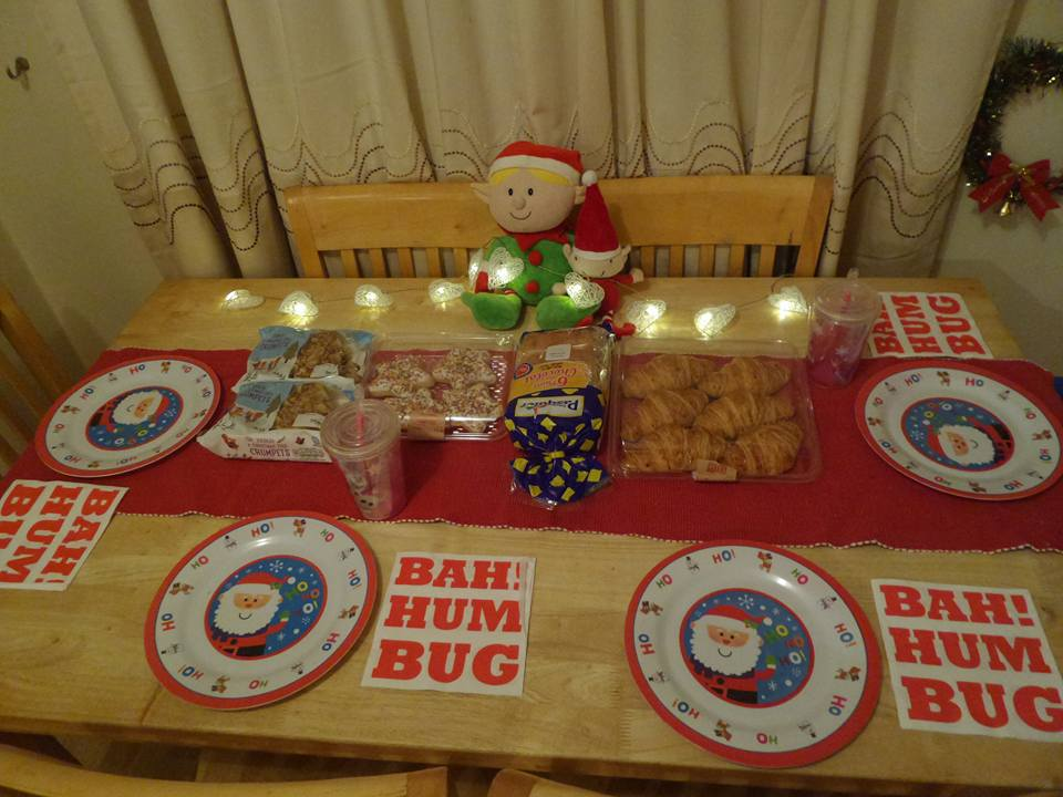 North Pole breakfast goodies