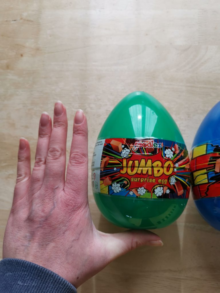 lucky surprise egg