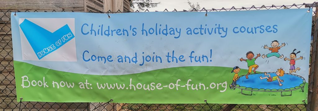 House of Fun banner